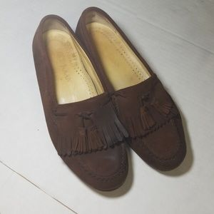 Cole haan loafers with tassels size